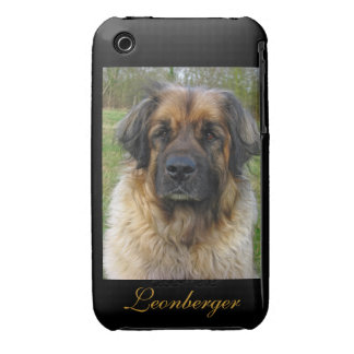 Leonberger dog beautiful photo portrait, gift iPhone 3 cover