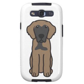 Leonberger Dog Cartoon Galaxy SIII Case