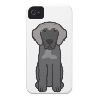 Leonberger Dog Cartoon Case-Mate iPhone 4 Case