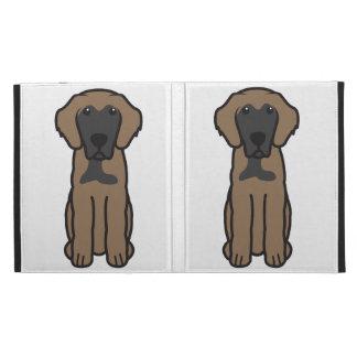 Leonberger Dog Cartoon iPad Folio Covers
