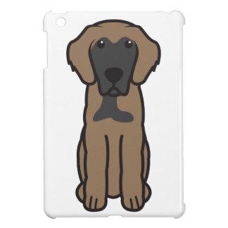 Leonberger Dog Cartoon iPad Mini Cover