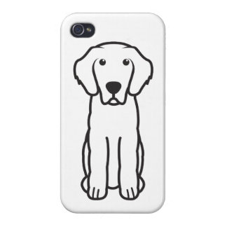 Leonberger Dog Cartoon iPhone 4 Covers