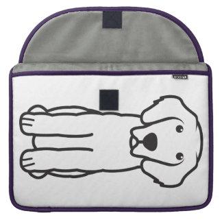 Leonberger Dog Cartoon MacBook Pro Sleeves