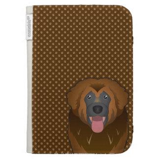 Leonberger Dog Cartoon Paws Kindle Cases