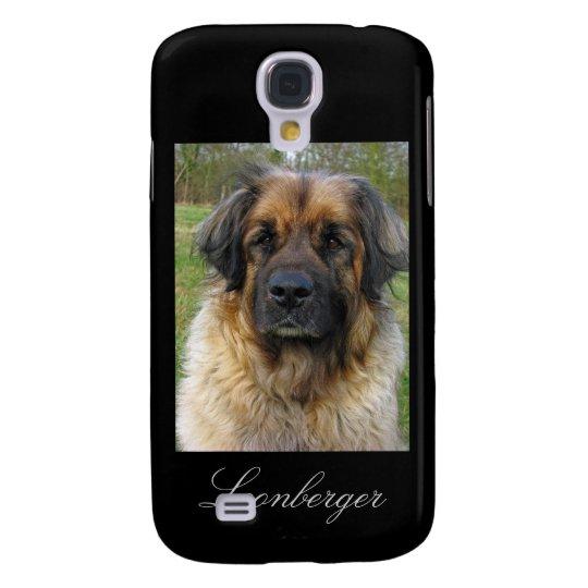 Leonberger dog iphone 3G case, beautiful photo Galaxy