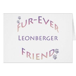 Leonberger Furever Greeting Card