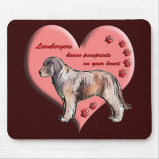 Leonberger Paws Mousepad