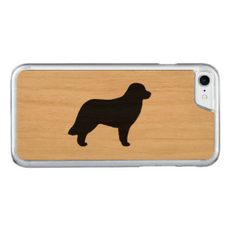 Leonberger Silhouette Carved iPhone 7 Case