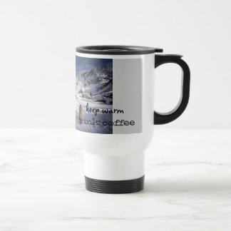Leonberger travel mug keep warm