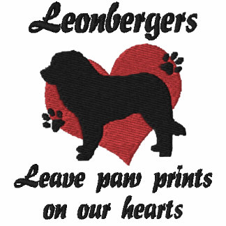 Leonbergers Leave Paw Prints