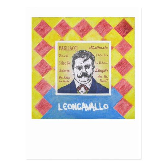 Leoncavallo Postcard
