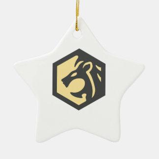LeonDesign Ceramic Star Decoration