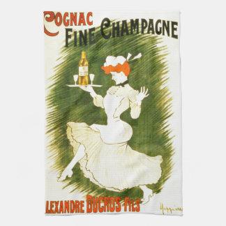 Leonetto Cappiello Champagne French illustration Tea Towel