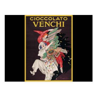 Leonetto Cappiello Cioccolato Venchi Postcard