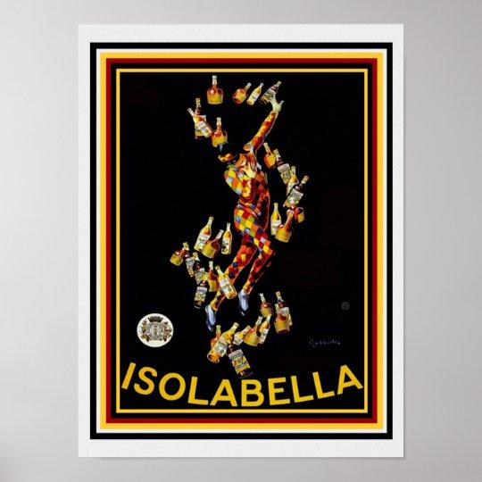 """Leonetto Cappiello """"Isolabella"""" Vintage Ad 12 x 16"""