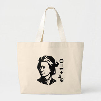 Leonhard Euler Jumbo Tote Bag