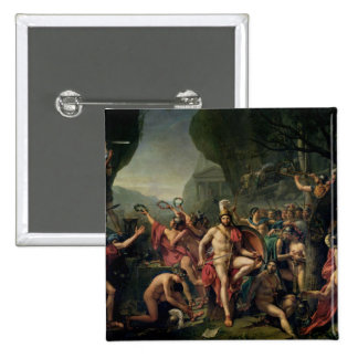 Leonidas at Thermopylae, 480 BC, 1814 15 Cm Square Badge