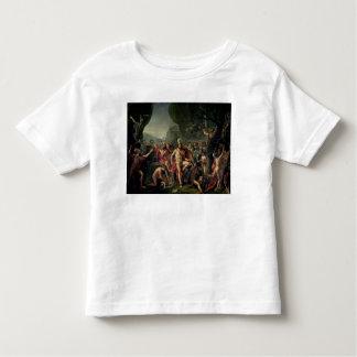 Leonidas at Thermopylae, 480 BC, 1814 Toddler T-Shirt