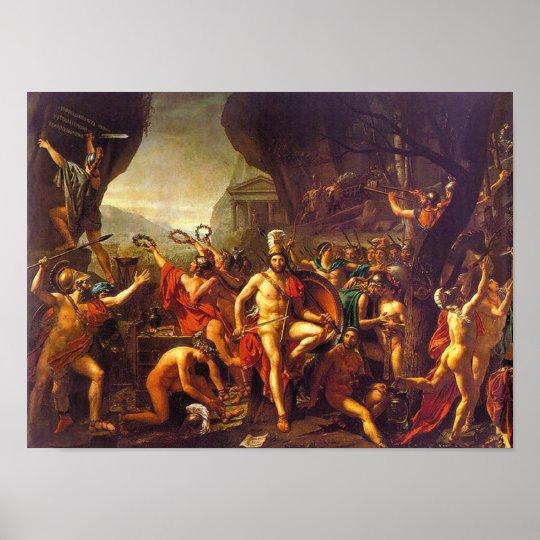 Leonidas at Thermopylae Poster