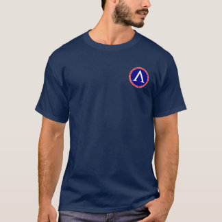 Leonidas I Red, White and Blue Seal Shirt