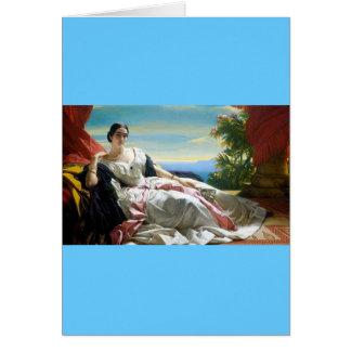 Leonilla Princess of Sayn Wittgenstein Sayn Greeting Card