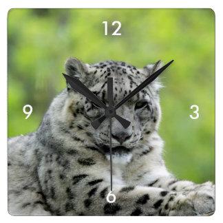 Leopard_2015_0310 Wall Clock
