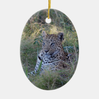LEOPARD 28  BOTSWANA CHRISTMAS ORNAMENT