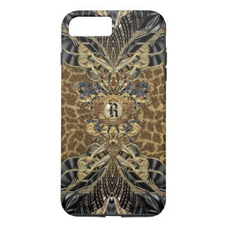Leopard 6/6s Wild Side Elegant Monogram Plus iPhone 7 Plus Case