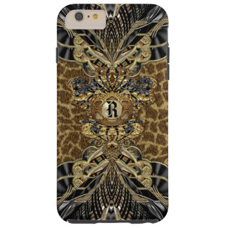 Leopard 6/6s Wild Side Elegant Monogram Plus Tough iPhone 6 Plus Case