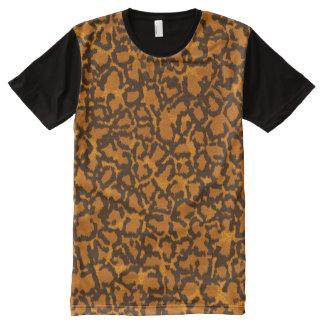 Leopard All-Over Print T-Shirt