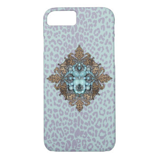 Leopard and Bling iPhone case