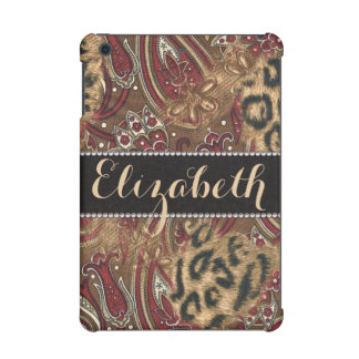 Leopard and Paisley Pattern Print to Personalize