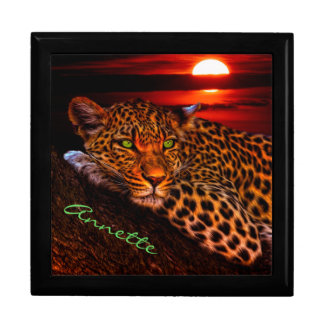 Leopard and Sunset Gift Box