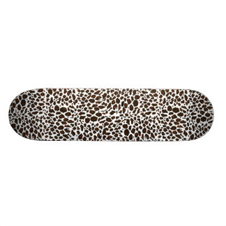 Leopard Animal Print Custom Skate Board