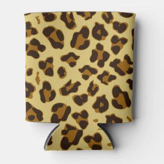 Leopard Animal Print Pattern Can/Bottle Cooler