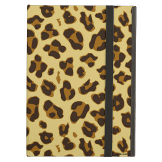 Leopard Animal Print Pattern iPad Case