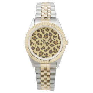 Leopard Animal Print Pattern Watch