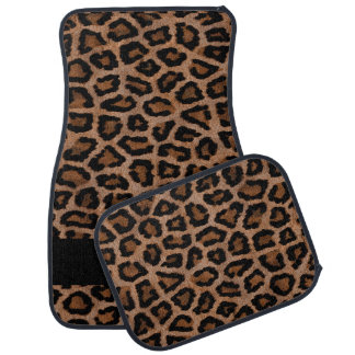 Leopard Animal Print | Personalize Car Mat