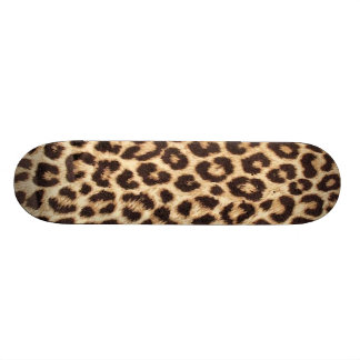 Leopard / Animal Print Skateboard