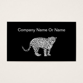 Leopard Animal Theme Business Cards