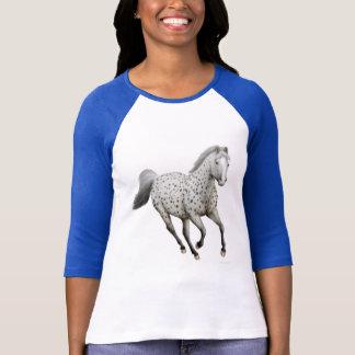 Leopard Appaloosa Horse Raglan Jersey T-Shirt