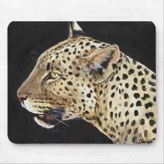 Leopard art reproduction Mouse Pad
