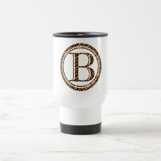 leopard B Travel Mug