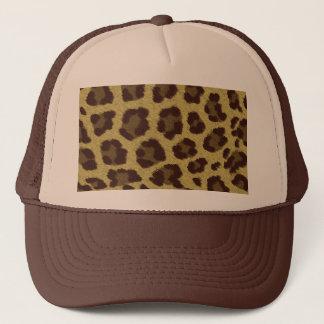 Leopard Background Trucker Hat