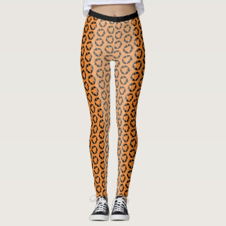 Leopard Bike Shorts Leggings