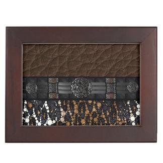 Leopard Bling Keepsake Box
