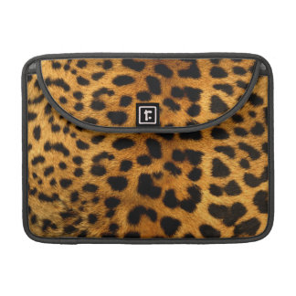 Leopard Body Fur Skin Case Cover Sleeve For MacBook Pro