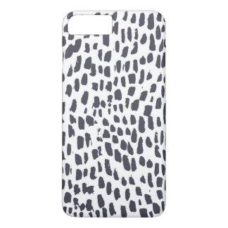 Leopard Brush Print iPhone 8 Plus/7 Plus Case