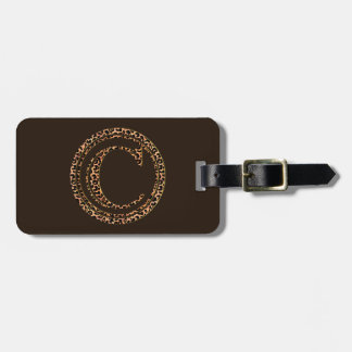leopard C Luggage Tag