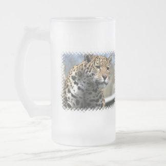 Leopard Cat Frosted Mug